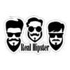 Adhesivo Barber Shop Real Hipster.