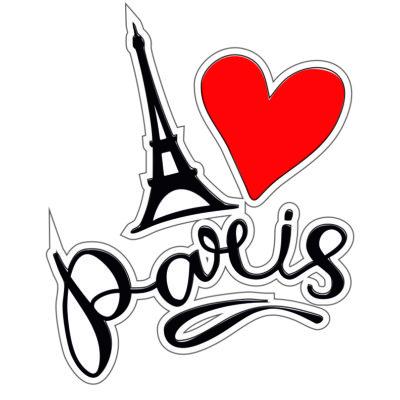 Adhesivo Paris.