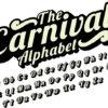 Adhesivo letras Carnival.